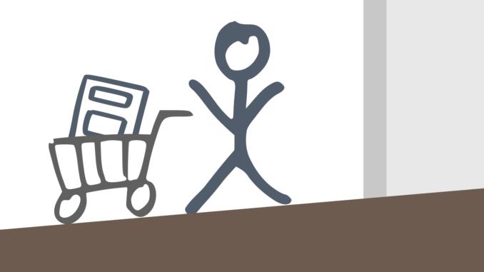 Positives Einkaufserlebnis oder verlorener Umsatz... auf dem Weg zur Kasse wartet noch so manches Hindernis.