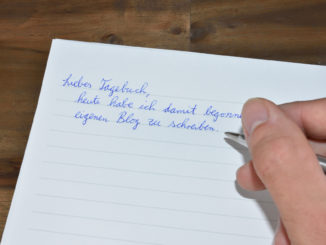 Aller Anfang ist manchmal schwerer als gedacht - das gilt auch für das Schreiben eines Blogs.