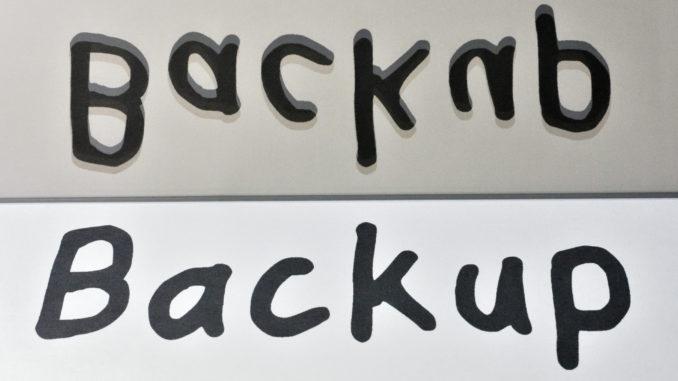 Das Backup Ihrer persönlichen Dateien muss nicht kompliziert sein. Aber es muss sein !